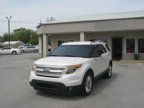 2013 Ford Explorer for sale at Premier Motor Co in Springdale AR