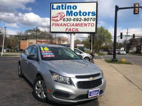 2016 Chevrolet Cruze Limited for sale at Latino Motors in Aurora IL