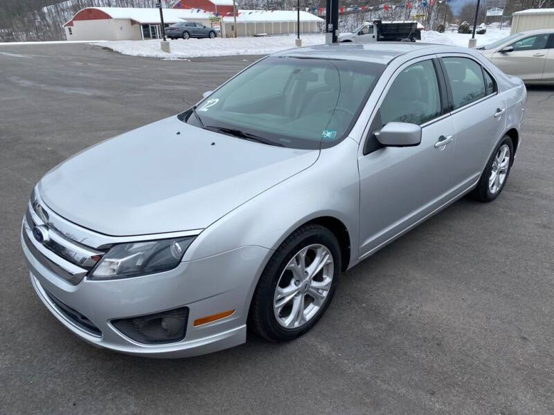 2012 Ford Fusion for sale at Alexandria Auto Mart LLC in Alexandria PA