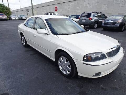 2003 Lincoln LS for sale at DONNY MILLS AUTO SALES in Largo FL