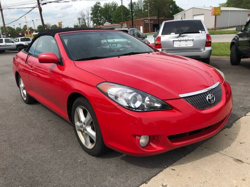 2005 Toyota Camry Solara for sale at Wise Investments Auto Sales in Sellersburg IN