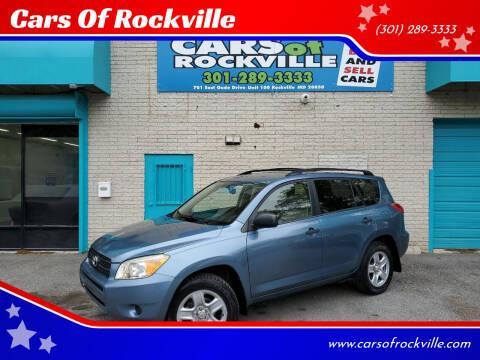 2006 Toyota RAV4 for sale at Cars Of Rockville in Rockville MD