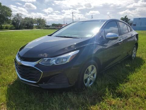 2019 Chevrolet Cruze for sale at VC Auto Sales in Miami FL