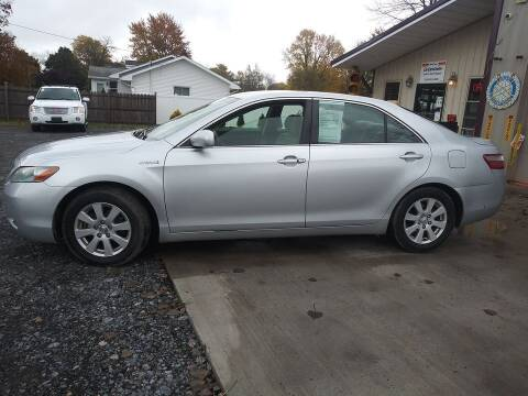 2007 Toyota Camry Hybrid for sale at John's Auto Sales & Service Inc in Waterloo NY