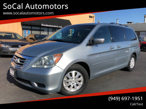 2008 Honda Odyssey for sale at SoCal Automotors in Costa Mesa CA