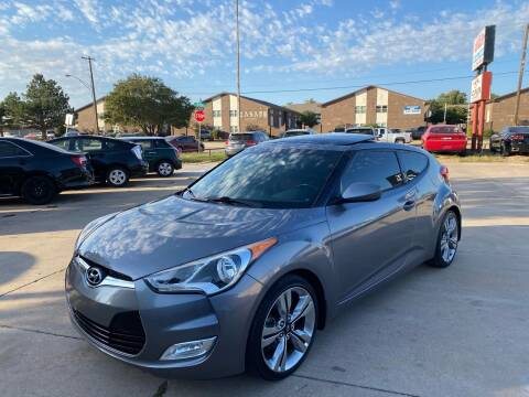 2015 Hyundai Veloster for sale at Car Gallery in Oklahoma City OK