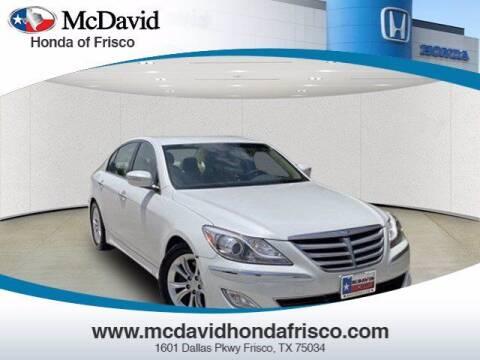 2012 Hyundai Genesis for sale at DAVID McDAVID HONDA OF IRVING in Irving TX