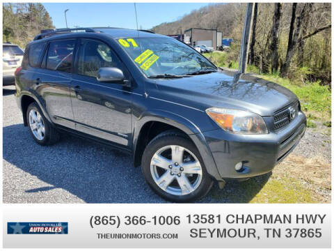 2007 Toyota RAV4 for sale at Union Motors in Seymour TN