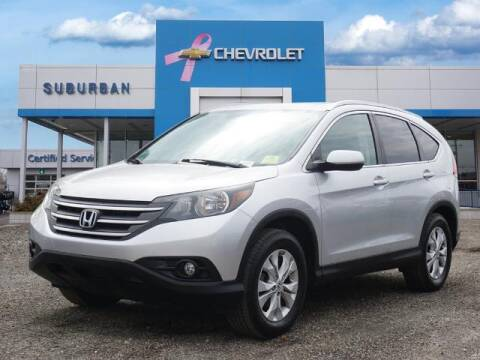2013 Honda CR-V for sale at Suburban Chevrolet of Ann Arbor in Ann Arbor MI