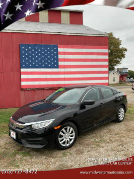 "2017 Honda Civic for sale at MIDWESTERN AUTO SALES        ""The Used Car Center"" in Middletown OH"