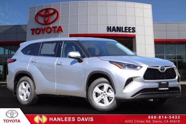 2021 Toyota Highlander for sale at Hanlees Davis Toyota in Davis CA