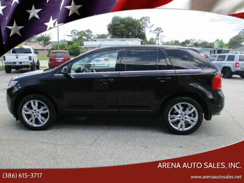 2013 Ford Edge for sale at ARENA AUTO SALES,  INC. in Holly Hill FL