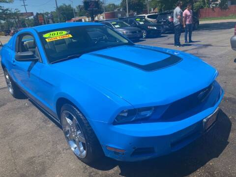 2010 Ford Mustang for sale at Zs Auto Sales in Kenosha WI