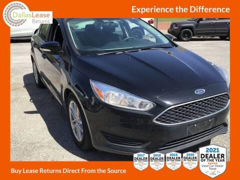 2018 Ford Focus for sale at Dallas Auto Finance in Dallas TX