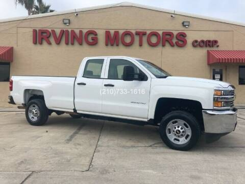 2016 Chevrolet Silverado 2500HD for sale at Irving Motors Corp in San Antonio TX