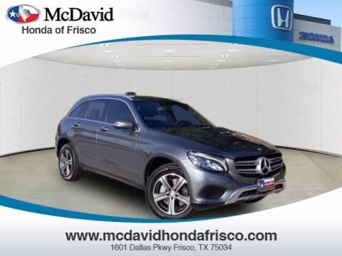 2017 Mercedes-Benz GLC for sale at DAVID McDAVID HONDA OF IRVING in Irving TX