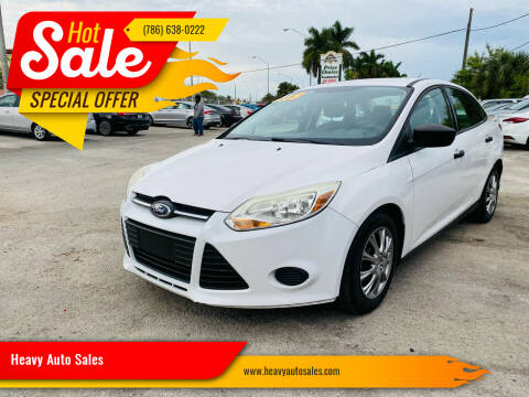 2012 Ford Focus for sale at Heavy Auto Sales in Miami FL