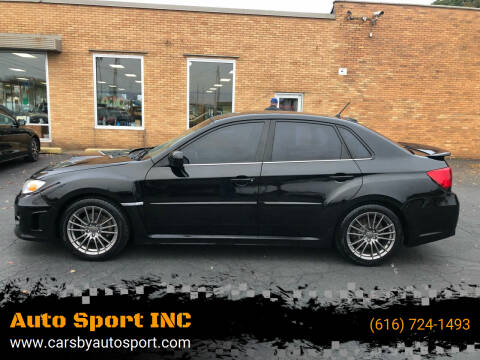 2014 Subaru Impreza for sale at Auto Sport INC in Grand Rapids MI