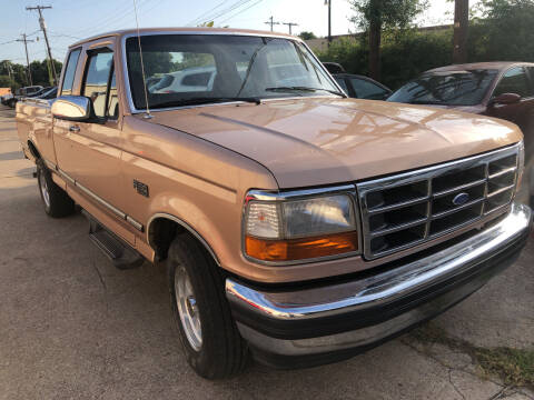 1995 Ford F-150 for sale at Auto Access in Irving TX
