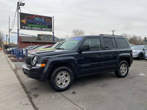 2015 Jeep Patriot for sale at AWD Denver Automotive LLC in Englewood CO