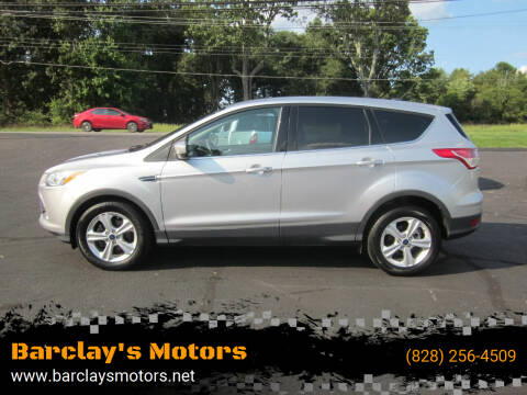2014 Ford Escape for sale at Barclay's Motors in Conover NC