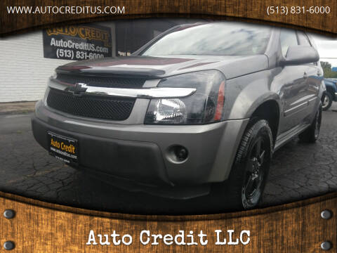 2006 Chevrolet Equinox for sale at Auto Credit LLC in Milford OH