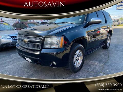 2007 Chevrolet Tahoe for sale at AUTOSAVIN in Elmhurst IL