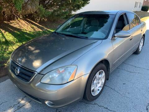 2002 Nissan Altima for sale at ATLANTA AUTO WAY in Duluth GA