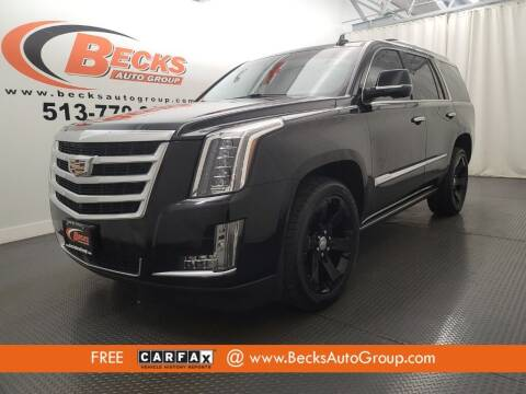 2016 Cadillac Escalade for sale at Becks Auto Group in Mason OH