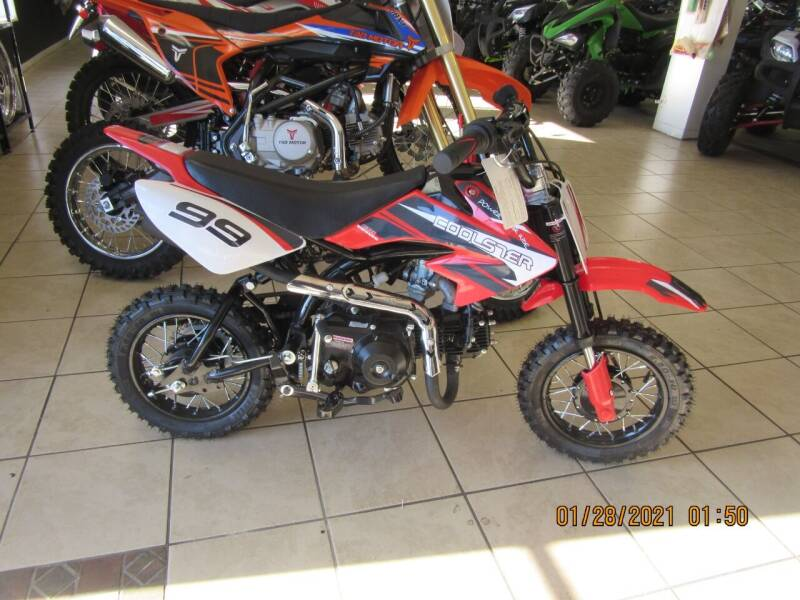 2021 Coolster 70 dirtbike for sale at Trinity Cycles in Burlington NC