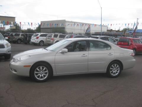 2003 Lexus ES 300 for sale at Town and Country Motors - 1702 East Van Buren Street in Phoenix AZ