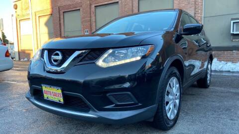 2016 Nissan Rogue for sale at Rocky's Auto Sales in Worcester MA