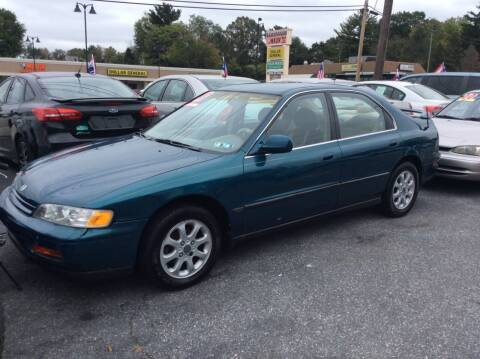 1995 Honda Accord for sale at Lancaster Auto Detail & Auto Sales in Lancaster PA