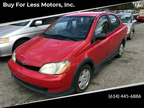 2002 Toyota ECHO for sale at Buy For Less Motors, Inc. in Columbus OH