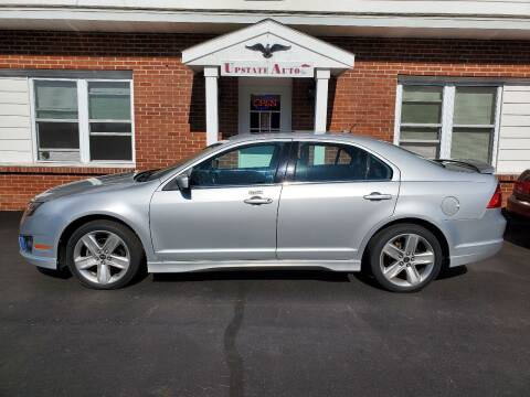 2010 Ford Fusion for sale at UPSTATE AUTO INC in Germantown NY