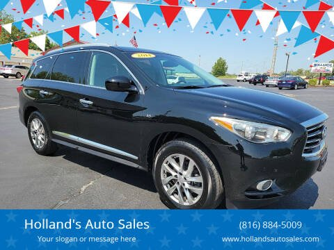 2014 Infiniti QX60 for sale at Holland's Auto Sales in Harrisonville MO