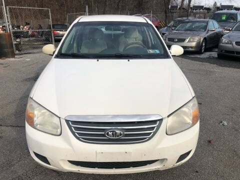 2008 Kia Spectra for sale at YASSE'S AUTO SALES in Steelton PA