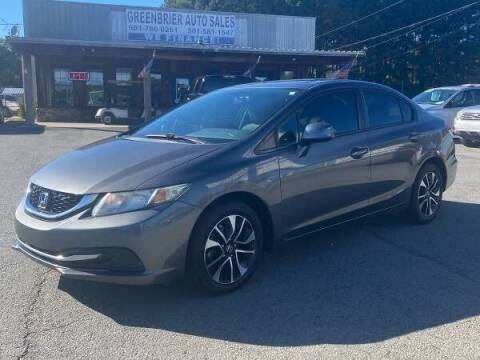 2013 Honda Civic for sale at Greenbrier Auto Sales in Greenbrier AR