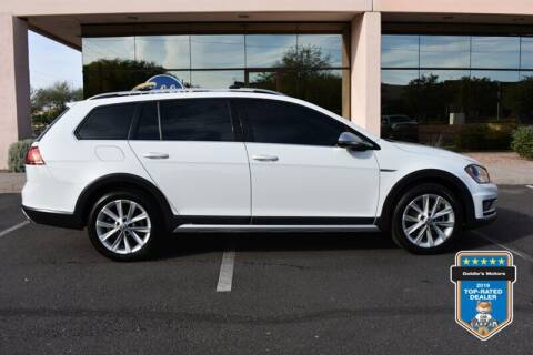 2017 Volkswagen Golf Alltrack for sale at GOLDIES MOTORS in Phoenix AZ