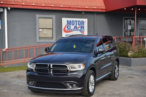 2016 Dodge Durango for sale at Motor Car Concepts II - Kirkman Location in Orlando FL