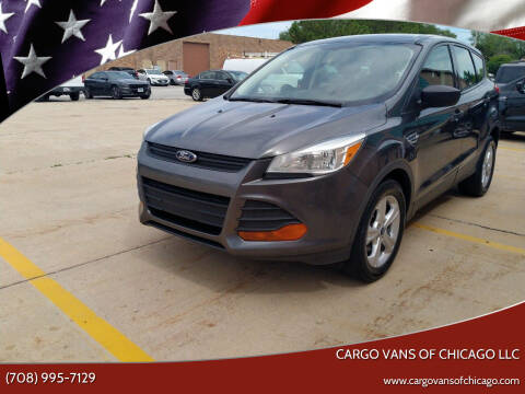 2015 Ford Escape for sale at Cargo Vans of Chicago LLC in Mokena IL
