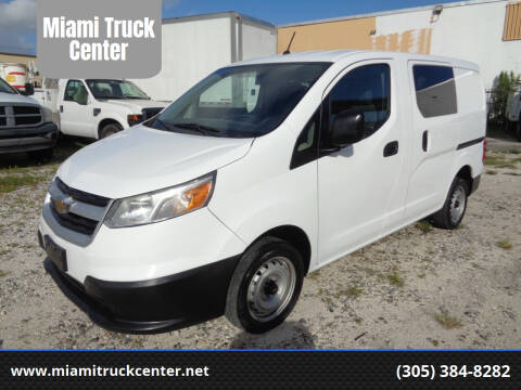 2016 Chevrolet City Express Cargo for sale at Miami Truck Center in Hialeah FL