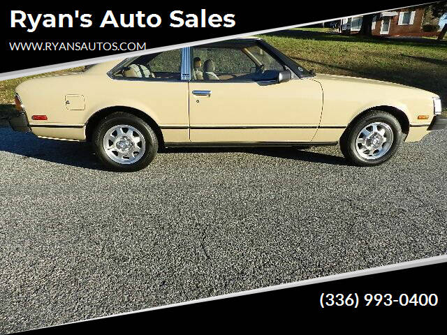 1980 Toyota Celica for sale at Ryan's Auto Sales in Kernersville NC