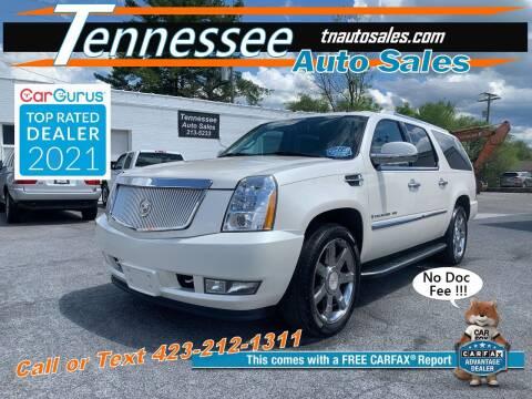 2008 Cadillac Escalade ESV for sale at Tennessee Auto Sales in Elizabethton TN