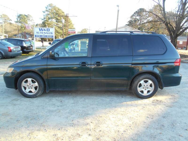 2001 Honda Odyssey for sale at W & D Auto Sales in Fayetteville NC