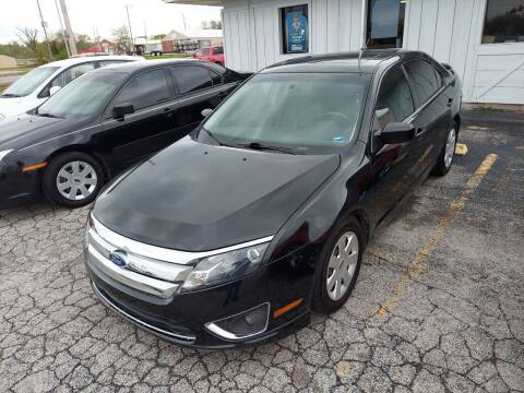 2011 Ford Fusion for sale at Bourbon County Cars in Fort Scott KS
