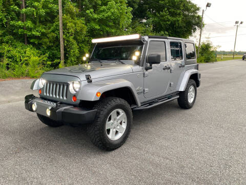 2014 Jeep Wrangler Unlimited for sale at Autoteam of Valdosta in Valdosta GA