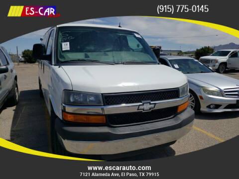 2015 Chevrolet Express Passenger for sale at Escar Auto in El Paso TX