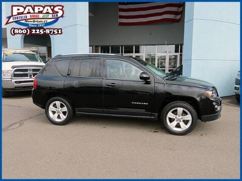 2014 Jeep Compass for sale at Papas Chrysler Dodge Jeep Ram in New Britain CT
