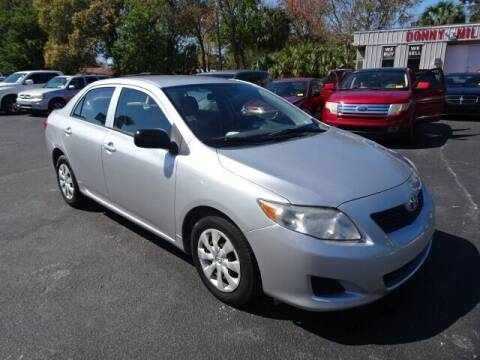 2009 Toyota Corolla for sale at DONNY MILLS AUTO SALES in Largo FL